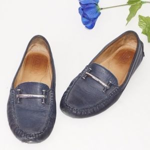 Ralph Lauren Caliana Leather Loafers, Size 8
